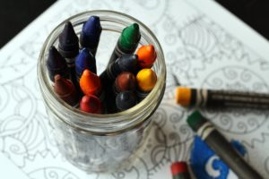Nannies vs Day-Care crayons